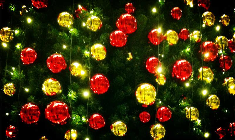 大型圣诞树,酒店圣诞装饰布置工程方案