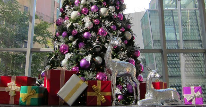 香港豪华圣诞布置方案