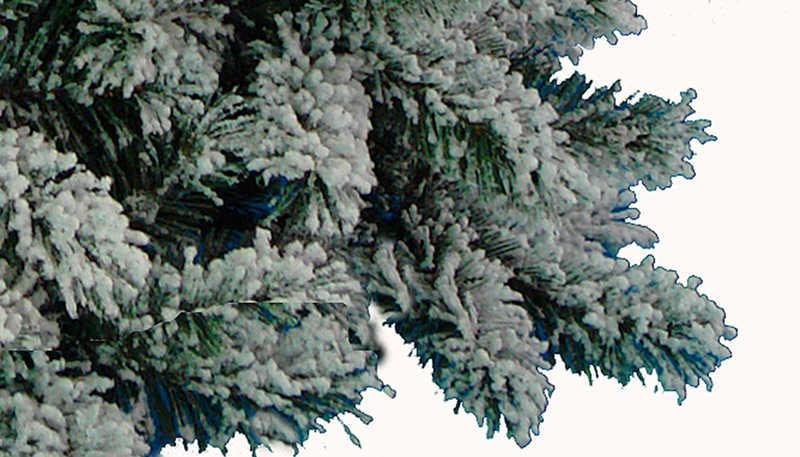 广东圣诞树公司供应积雪效果圣诞树