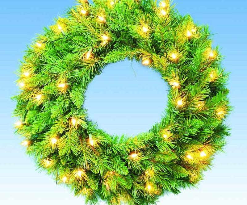圣诞节装饰布置用的花环