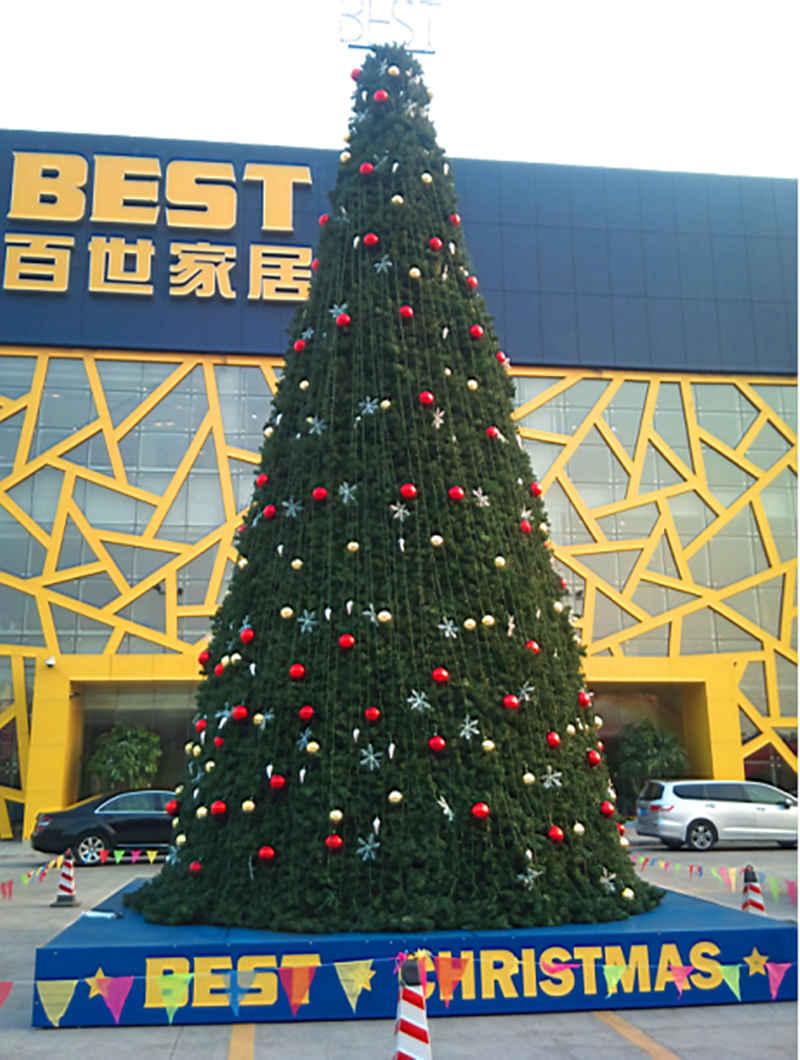 户外大型LED灯圣诞树