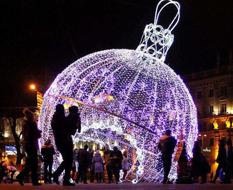 圣诞铁球造型