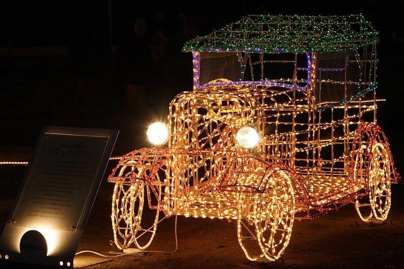 创新圣诞车造型