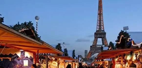 法国巴黎圣诞集市