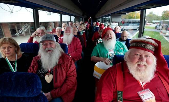 圣诞老人聚会