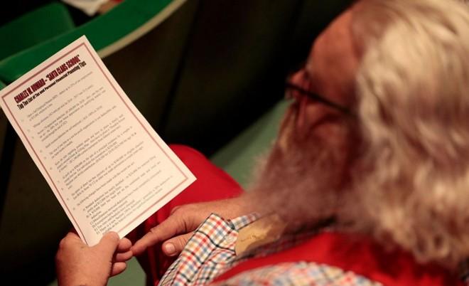 圣诞老人读书