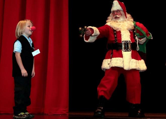 圣诞老人与小朋友