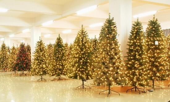 塑料圣诞树