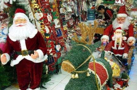 圣诞装饰物出口